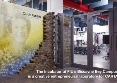 The incubator at FIU Biscayne Bay Campus
