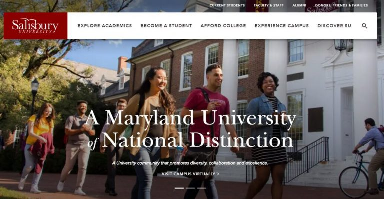 Salisbury University Website